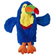Doggles 2-Liter Toucan Dog Toy, Blue