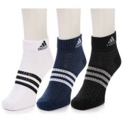 Adidas Cushioned Crew Ankle Socks - Pack of 3