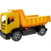 Camion basculanta pentru copii din plastic galbena sustine 100 kg Lena