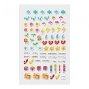 Itsy Bitsy Stickers - Happy Planner (1 Sheet)