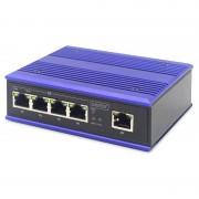 Digitus Switch 4 Portas PoE Gigabit + x1 Enlace Ascendente