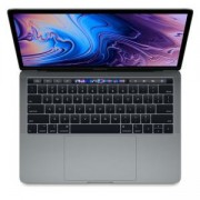Лаптоп Apple MacBook Pro 13/Touch Bar, 13.3-инчов екран (2560x1600), Intel Core i5-8279U, 512GB SSD, Intel Iris Plus Graphics 655, Space Grey, MV972ZE