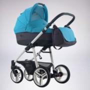 BEBETTO vulcano kolica za bebe, set 3u1