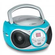 Trevi CD 512 CD-Player MP3 AM/FM-Radio AUX turquesa (#0051213)