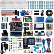 Smraza Uno R3 Starter Kit for Arduino with 200pcs Components compatible with Arduino UNO Mega2560 (67 Items)
