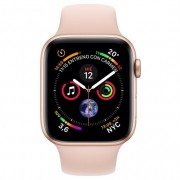 Apple Watch Series 4 GPS 44mm Aluminio Dorado con Correa Deportiva Rosa