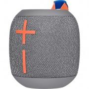 Boxa portabila Logitech Ultimate Wonderboom 2, Bluetooth, IP67 Waterproof, Autonomie 13h, Crushed Ice Grey
