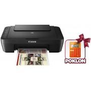 MFP InkJet A4 Canon Pixma MG3050, štampač/skener/kopir WiFi + Canon kalkulator