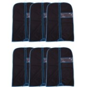 CARE N CARRY pack of 6 COAT_COVER6 SK_6(Black)
