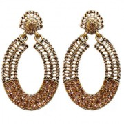 Lucky Jewellery Trendy LCT Color Antique Plating Earring For Girls Women