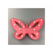 LED Lampă decorativă copii BUTTERFLY LED/2xAA