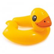 Intex Badeendje zwemring geel