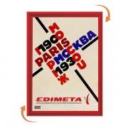Edimeta Cadre Clic-Clac A5 ROUGE