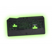 KBD, KEEPOUT F89CH, Gaming, LED, 12 multimedia and 5 programmable keys