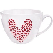 Orion porcelán bögre LOVE GIFT 490 ml