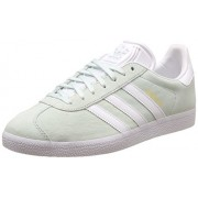 adidas Originals Men's Gazelle Icemin, White and Goldmt Leather Sneakers - 11 UK/India (46 EU)