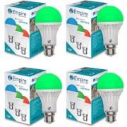SWARA B22 5W COLOR LED BULB GREEN- PACK OF 4