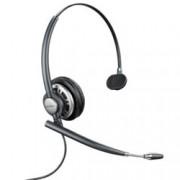 Слушалки Plantronics EncorePro HW710, микрофон, Call Clarity функция, Acoustic Shock Protection функция, Echo control, черни