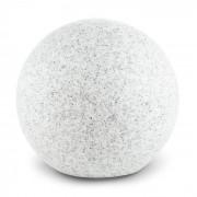 Lightcraft Shinestone M Lampe de jardin ronde 30cm Style pierre