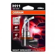 Osram Night Breaker Unlimited H11 1db - 64211NBU-01B autós izzó