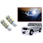 Auto Addict Car T10 9 SMD Headlight LED Bulb for Headlights Parking Light Number Plate Light Indicator Light For Mahindra Bolero XL