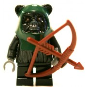 Lego Star Wars Tokkat Ewok Minifigure with Bow and Arrow