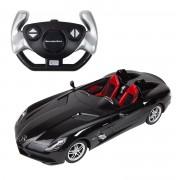 Masina cu telecomanda Rastar Mercedes Benz SLR McLaren 1:12 - Neagra