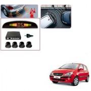 Auto Addict Car Black Reverse Parking Sensor With LED Display For Hyundai Getz
