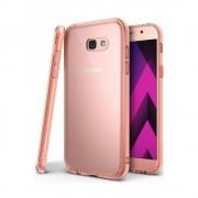 Husa Samsung Galaxy A3 2017 Ringke FUSION ROSE GOLD + BONUS folie protectie spate Ringke