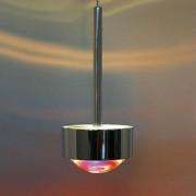 Top Light Puk Long One Pendelleuchte weiß-chrom Glas matt Standard-Fassung