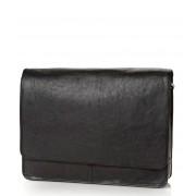 Castelijn & Beerens Handtas Verona Messenger Bag 15.6 inch Zwart