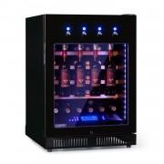 Klarstein First Class 36, frigider pentru vin, 4 distribuitoare, 36 sticle, 5-22 ° C, negru (HEA18-H46S-F1)