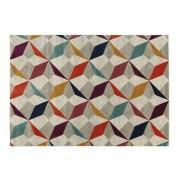 Miliboo Mehrfarbiger Teppich 160 x 230 cm DAUDET