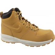 Nike Manoa Lth Gs AJ1280-700, Vrouwen, Geel, Trekkinglaarzen maat: 38.5 EU