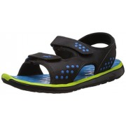Puma Men's Faas sandal Ind. Methyl Blue and Black Athletic & Outdoor Sandals - 10UK/India (44.5EU)
