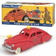 Dimestore Dreams 20020 Fire Chief's Car 1:43 plastic retro look