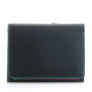Mywalit Portemonnee Tri-fold S Black Pace