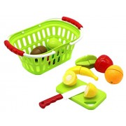 ZERBO Delicious Playfully 10 pcs Pretend Fresh Fruit Play set for kids