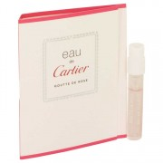 Cartier Eau De Cartier Goutte De Rose Vial (Sample) 0.05 oz / 1.48 mL Men's Fragrances 537042