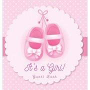 It's a Girl! Guest Book: Baby Shower, Sign in book, Advice for Parents, Wishes for a Baby, Bonus Gift Log, Keepsake Pages, Place for a Photo, P, Hardcover/Luis Lukesun