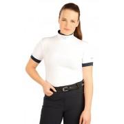 LITEX Triko dámské s krátkým rukávem. J1113100 Bílá XS