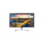 "LG 32UD89 31.5"" 4K Ultra HD LED Flat Silver, White computer monitor LED display"