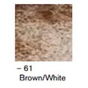Skandilock Hide glasunderlägg - Brown/white