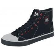 Die Toten Hosen EMP Signature Sneaker high - Offizielles Merchandise EU37, EU38, EU39, EU40, EU41, EU42, EU43, EU44, EU45, EU46 Unisex
