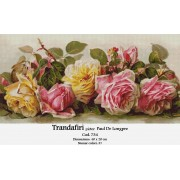 Trandafiri de Paul De Longpre (kit goblen)