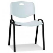 Посетителски стол Iso plastic black