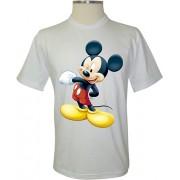 Camiseta Mickey Mouse Piscando - Coleção A Turma do Mickey