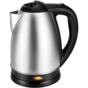 WDS ™SC-1838 Cordless Kettle, Auto Shut Off With Boil Dry Protection FDA Certified Tea Kettle Electric Kettle (1.8 L, Silver) Electric Kettle(1.8 L, Silver)