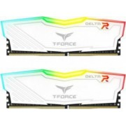 Kit Memorie Team Group Delta 2 x 8GB DDR4 2400MHz CL15 RGB White