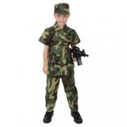 ROTHCO Komplet kostým VOJÁK dětský WOODLAND